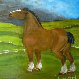 Anna Folkartanna Maciejewska-Dyba  - Horse and the Storm