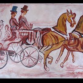 Anand Swaroop Manchiraju - Horse Chariot
