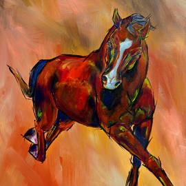 Lee Walker - Horse in Motion