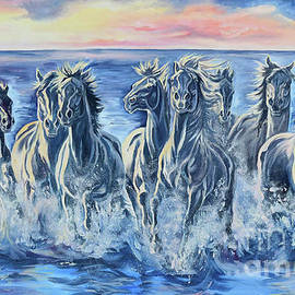 Jana Goode - Horses of the Sea