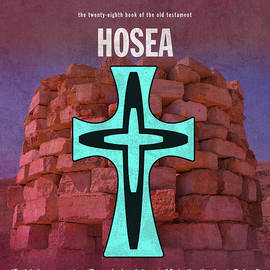 Hosea Books Of The Bible Series Old Testament Minimal Poster Art Number 28 - Design Turnpike