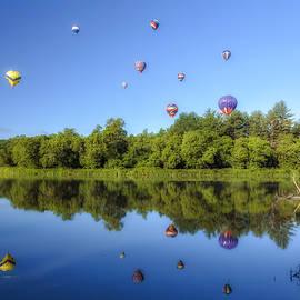 John Vose - Hot Air Balloon Festival Reflections