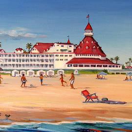 Robert Gerdes - Hotel del Coronado Beach Ball Game