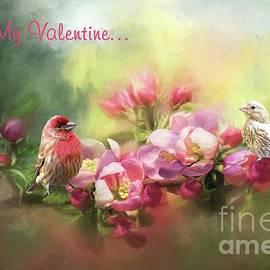 Janette Boyd - House Finch Valentine