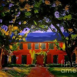 Karen Harding - House Garden Tree Arch Art