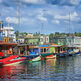 Nikolyn McDonald - Houseboats - 3 - Lake Union - Seattle