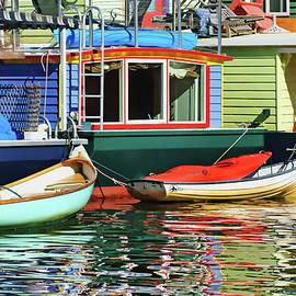 Nikolyn McDonald - Houseboats #4 - Lake Union - Seattle