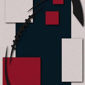 HOUSTON TEXANS FOOTBALL ART - Joe Hamilton