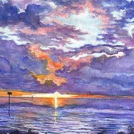 Carol Wisniewski - Hudson Beach Sunset Florida