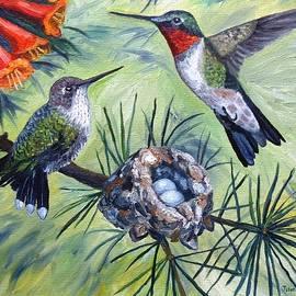Julie Brugh Riffey - Hummingbird Family
