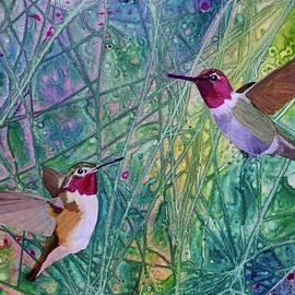Nancy Jolley - Hummingbird Pair