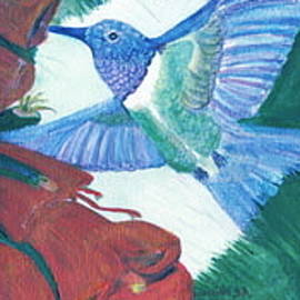 Anne-elizabeth Whiteway - Hummingbird View II