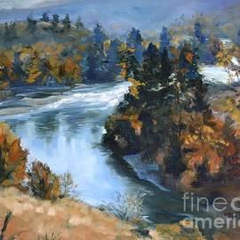 Lori Pittenger - Hwy 10 Gorge River View