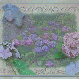 Larry Bishop - Hydrangea Montage in Blues