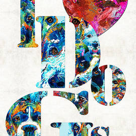 I Love Dogs by Sharon Cummings - Sharon Cummings