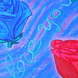 Tania Stefania Katzouraki - I love you flowers