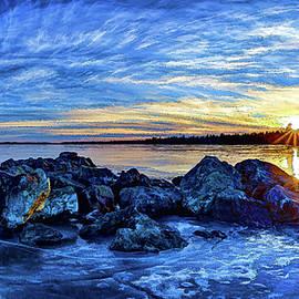 ABeautifulSky Photography - Icebound Sunset