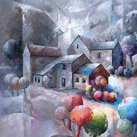 Beatrice BEDEUR - Iced landscape