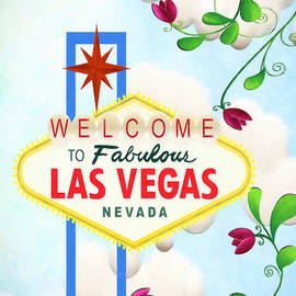 L Wright - Iconic Las Vegas Sign
