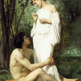 Idyll - William Adolphe Bouguereau