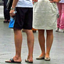 Tina M Wenger - If Feet Could Talk
