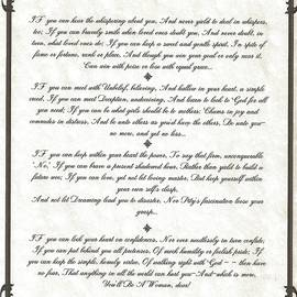 Desiderata Gallery - IF Poem for Girls