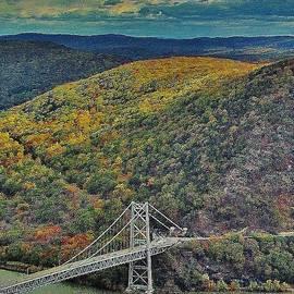 Thomas McGuire - Impressionism Bear Mountain Bridge