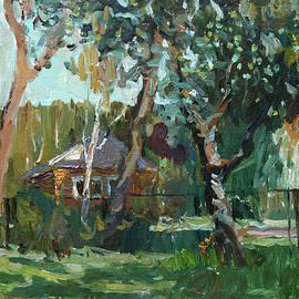 Juliya Zhukova - In a rustic garden