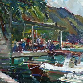 Juliya Zhukova - In the shade of palms
