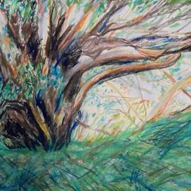 Esther Newman-Cohen - In the Shade of the Sycamore Tree near Ashdod