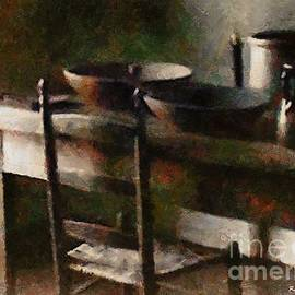 RC deWinter - In the Shaker Kitchen