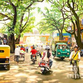 Dominique Amendola - India Street Scene 4