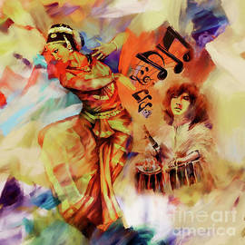 Gull G - Indian Kathak Dance art 67