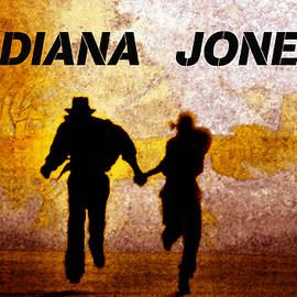 David Lee Thompson - Indiana Jones poster work A