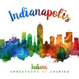 Indianapolis Indiana 25 - Aged Pixel