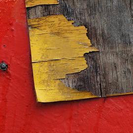 ArtyZen Studios - ArtyZen Home - Industrial Red and Gray Abstract Wall Art