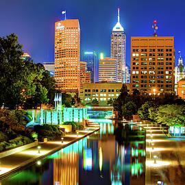 Gregory Ballos - Indy of Lights - Indianapolis Downtown Skyline