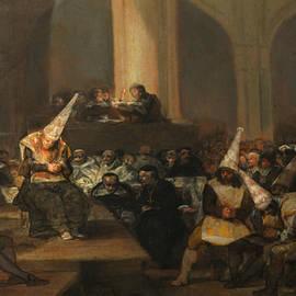 Inquisition Scene - Francisco Goya