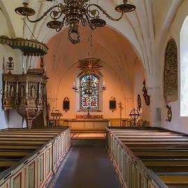 Leif Sohlman - interior of Teda church