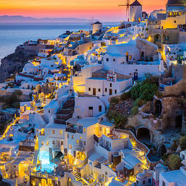 Inge Johnsson - Oia Sunset