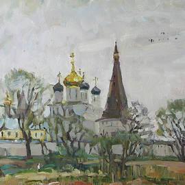 Juliya Zhukova - Iosifo-Volodsky monastery SOLD