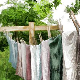 Wilma Birdwell - Iowa Farm Laundry Day