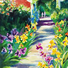 Kathy Braud - Iris Garden Walkway
