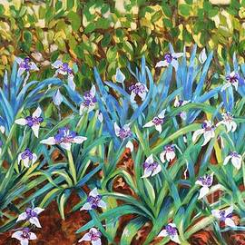 Caroline Street - Irises