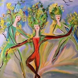 Judith Desrosiers - Irish greenery