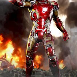 Iron Man - No Battle Damage - Paul Tagliamonte