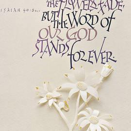 Dave Wood - Isaiah Calligraphy Print