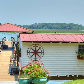 Linda Covino - Isle of Hope Series boathouse