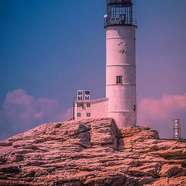 Claudia Mottram - Isles of shoals lighthouse in the afternoon 1