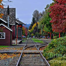 Kirt Tisdale - Issaquah Train Station
